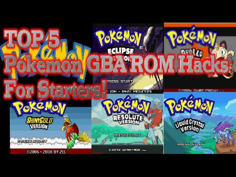 TOP 5 Pokemon GBA ROM HACKS/FanGames For Beginners