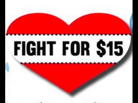 Fight for $15: Valentine's Day Visibility Action
