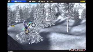Motocross nitro gameplay Tier 1 Frozen Lake Sprint