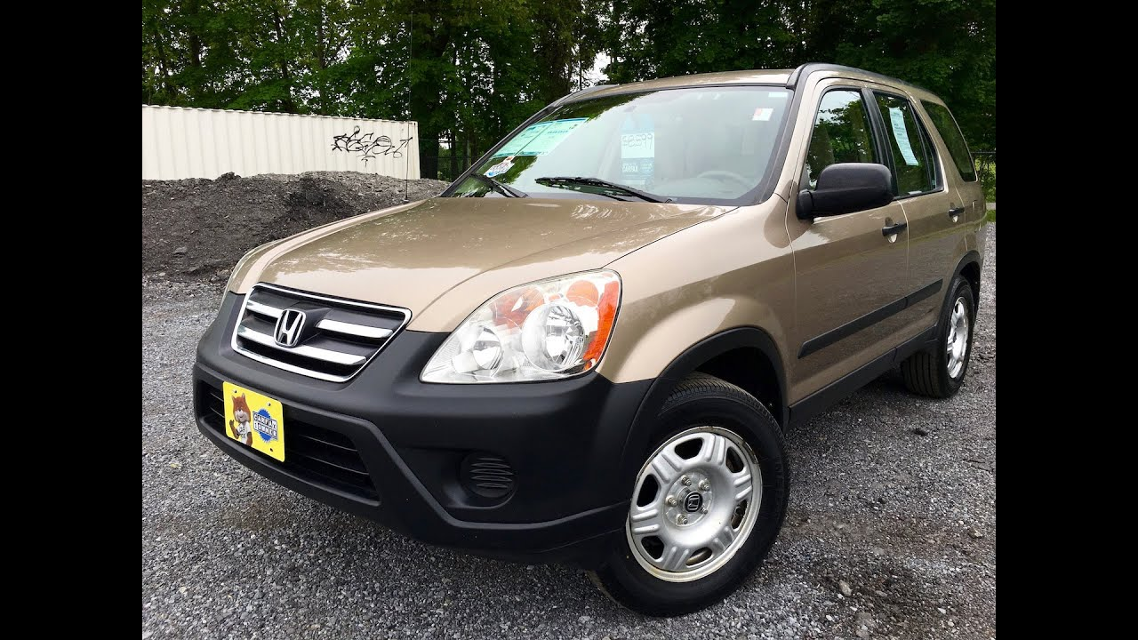 Honda Cr V Lx One Owner Carfax Suv For Sale By