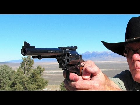 Ruger Old Model Blackhawk 3-Screw .41 Magnum - Shooting This Rare Classic Gun