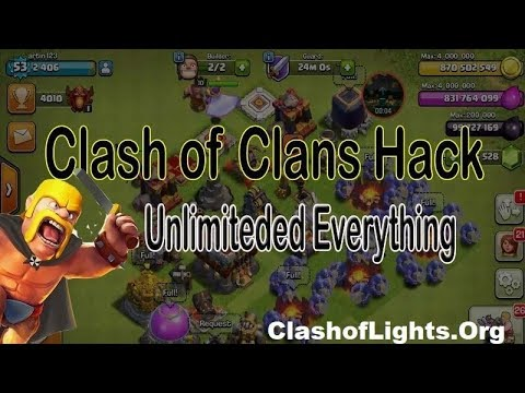 HOW WAY TO HACK CLASH OF CLANS 2019! NO SURVEY