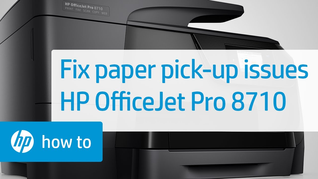 Fixing Your HP OfficeJet Pro 8710 Printer When It Does Not