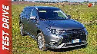 NEW MITSUBISHI OUTLANDER PHEV 2019 - FIRST TEST DRIVE