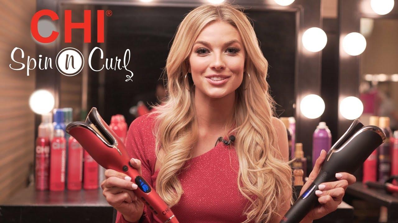 "CHI Spin N Curl 1"" Ceramic Rotating Curler / CHI Haircare Tools"