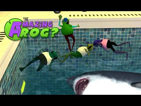 The Amazing Frog? Pool Party!!! - Part 41