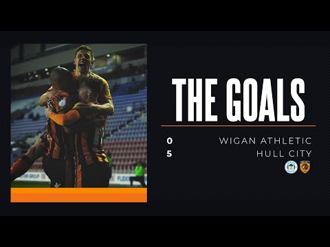 THE GOALS | Wigan Athletic 0-5 Hull City | Sky Bet League One