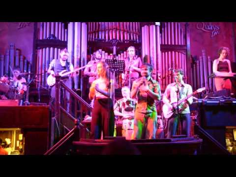 The Cosmic Funk Band 'Move on up' The Quays Galway