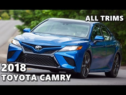 2018 Toyota Camry (All-New) Exterior, Interior, Driving