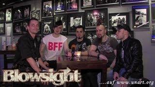 UnArt Live TV - Interview Blowsight, Zeche Bochum 2012