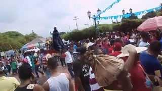 Golpe de Aje para la salida de San Benito... Santuario de La Conquista 28-12-2014