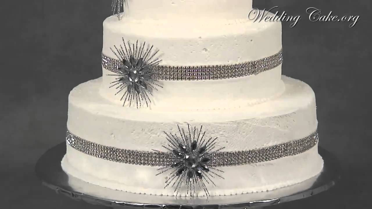 Fondant Wedding Cakes | White Wedding Cakes | Diamonds Devotion ...