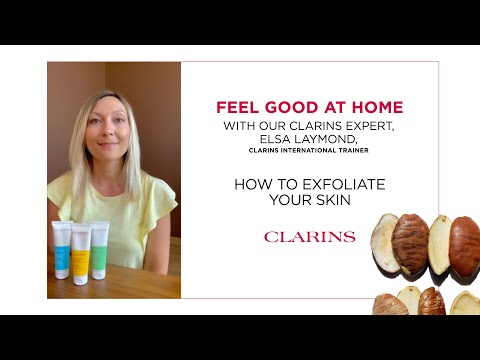 How to exfoliate your skin with Elsa   Clarins