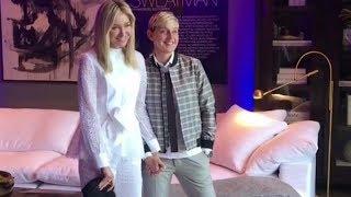 Portia De Rossi & Ellen DeGeneres - GPxRH Collaboration Launch Party