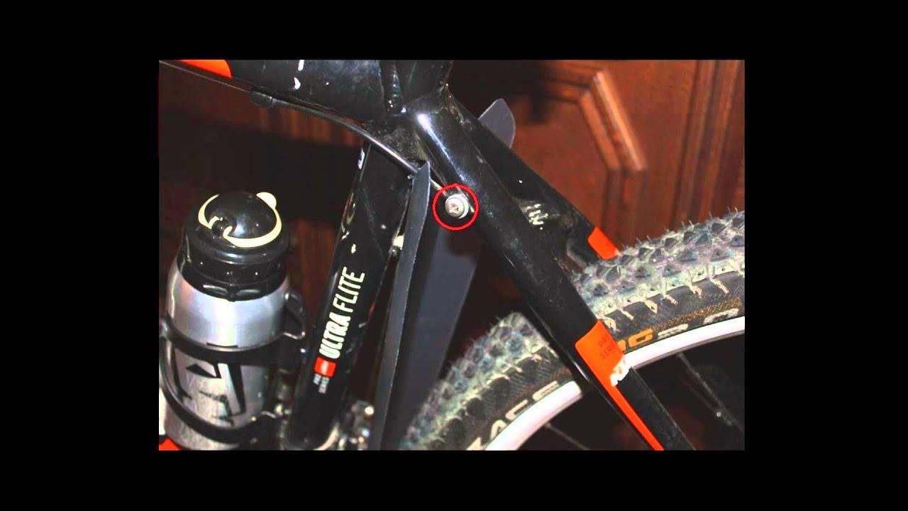 Diy Bicycle Rear Fenders Youtube
