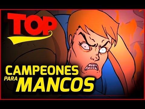 Campeones para MANCOS en League of Legends/ TOP 5