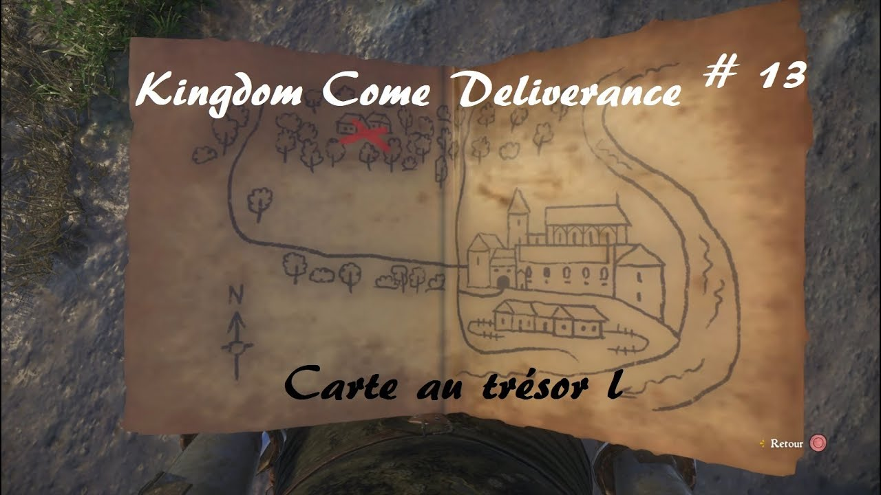 Carte Au Tresor 3 Kingdom Come.Kingdom Come Deliverance Carte Au Tresor I