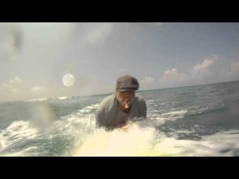 Surfing With an Ukulele and KaZoo - Music Video Footage