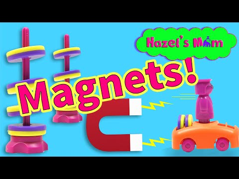 Fun With Magnets For Kids! Levitating Magnets And Cool Magnet Science Tricks.