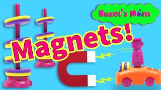 Fun with Magnets for Kids! | Levitating Magnets | Educational Videos for Kids