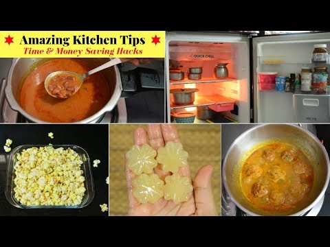 7 Amazing Time & Money Saving Kitchen Tips   Indian Kitchen Tips in Hindi   KitchenHack   UrbanRasoi