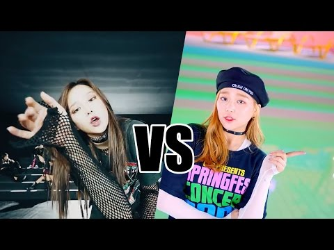CUTE VS COOL CONCEPT (K-POP GIRL GROUPS)
