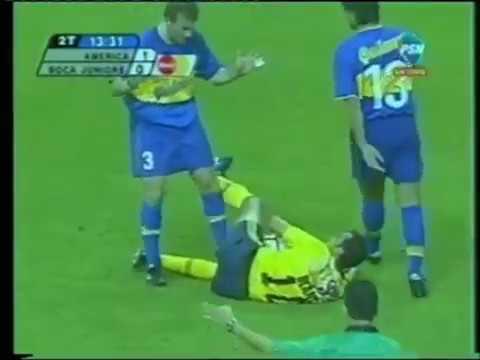 Cuauhtémoc Blanco vs Boca Juniors (Semifinal Libertadores 2000 - Vuelta)