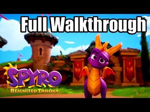 SPYRO REIGNITED TRILOGY [PS4 PRO] Gameplay Walkthrough - SPYRO THE DRAGON Full Game
