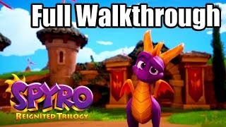 SPYRO REIGNITED TRILOGY [PS4 PRO] Gameplay Walkthrough - SPYRO THE DRAGON Full Game