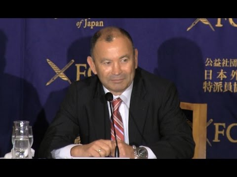 Eddie Jones: Former Head coach, the Japan National Rugby Union Team