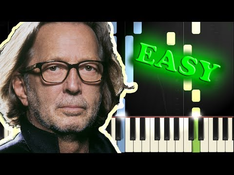 ERIC CLAPTON - TEARS IN HEAVEN - Easy Piano Tutorial