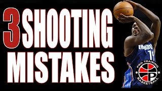 3 BIGGEST Shooting Mistakes | How To Fix Your Shot | Pro Training Basketball