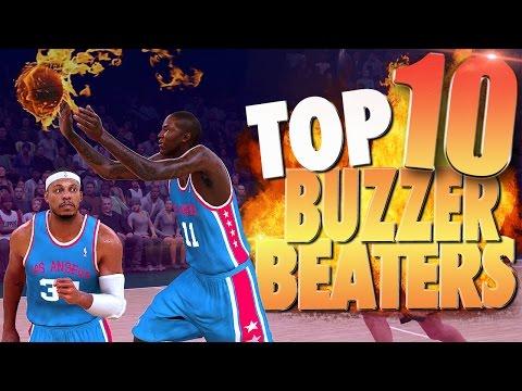 NBA 2K17 Top 10 Clutch Buzzer Beaters, Game Winning & Amazing Shots!