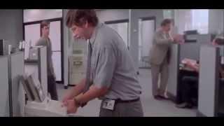 Office Space   Printer Scene