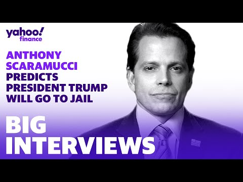 Former Trump aid Anthony Scaramucci predicts that President Trump will go to jail at some point