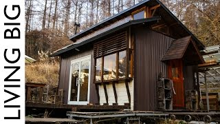 Majestic Off Grid Cabin In The Japanese Mountains