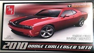 Model Kit Review-  2010 Dodge Challenger SRT8 1:25 Scale AMT #688