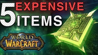 5 Expensive Items That Drop From Mobs in World of Warcraft