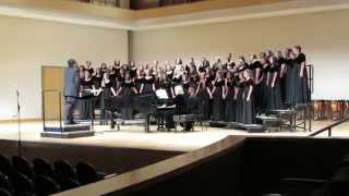 "WOHS Bel Canto Choir- ""Weep No More""- Spring 2014"