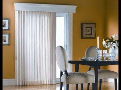 vertical blind for sliding glass door