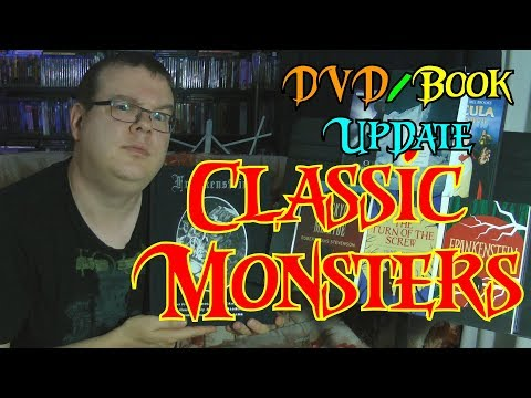 Classic Monsters!  DVD/Book Update!
