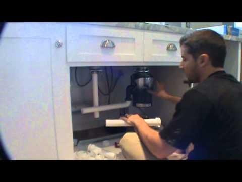 single sink garbage disposal hookup