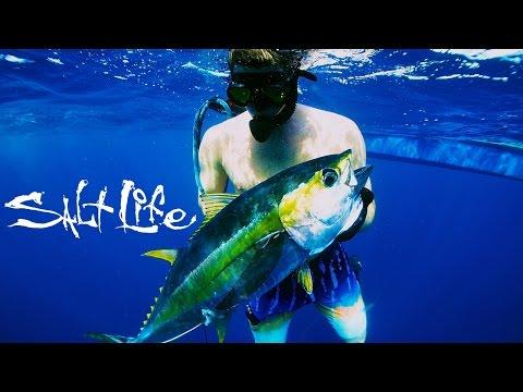 Team Salt Life Fishing in the Bahamas