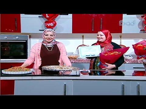والدة الشيف ساره تحتفل بعيد الام في برنامج سنه اولي طبخ مع الشيف ساره