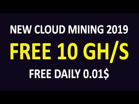 Earn Free Bitcoin Mining 2019 | FREE 10 GH/S | FREE 0.01$ Daily