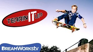 11-Year-Old Skateboarder Schaeffer McLean Jumps Off a Roof | TEARIN' IT UP