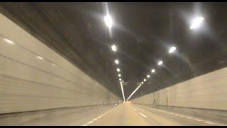 青葉山トンネルをぬけて仙台宮城IC(仙台西道路)