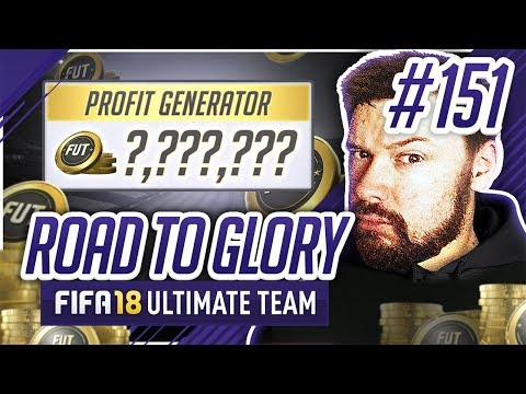 HOW TO MAKE CONSTANT PROFIT! - #FIFA18 Road to Glory! #151 Ultimate Team