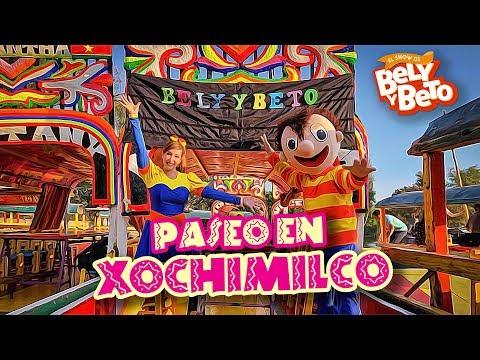 Bely y Beto de Paseo en Xochimilco