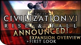 Video Civilization VI: RISE & FALL EXPANSION - First Look, Dev Diary Overview & Initial Discussion download MP3, 3GP, MP4, WEBM, AVI, FLV April 2018